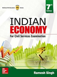 Image INDIAN ECONOMY BY RAMESH SINGH 7th EDITION