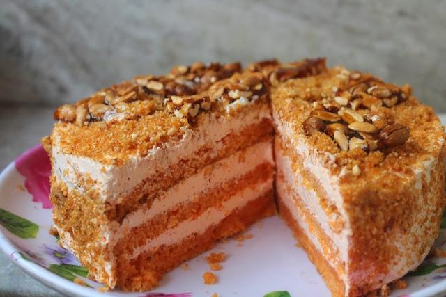 Zebra Cake Recipe Joy Of Baking: YUMMY TUMMY: Butterscotch Cake Recipe