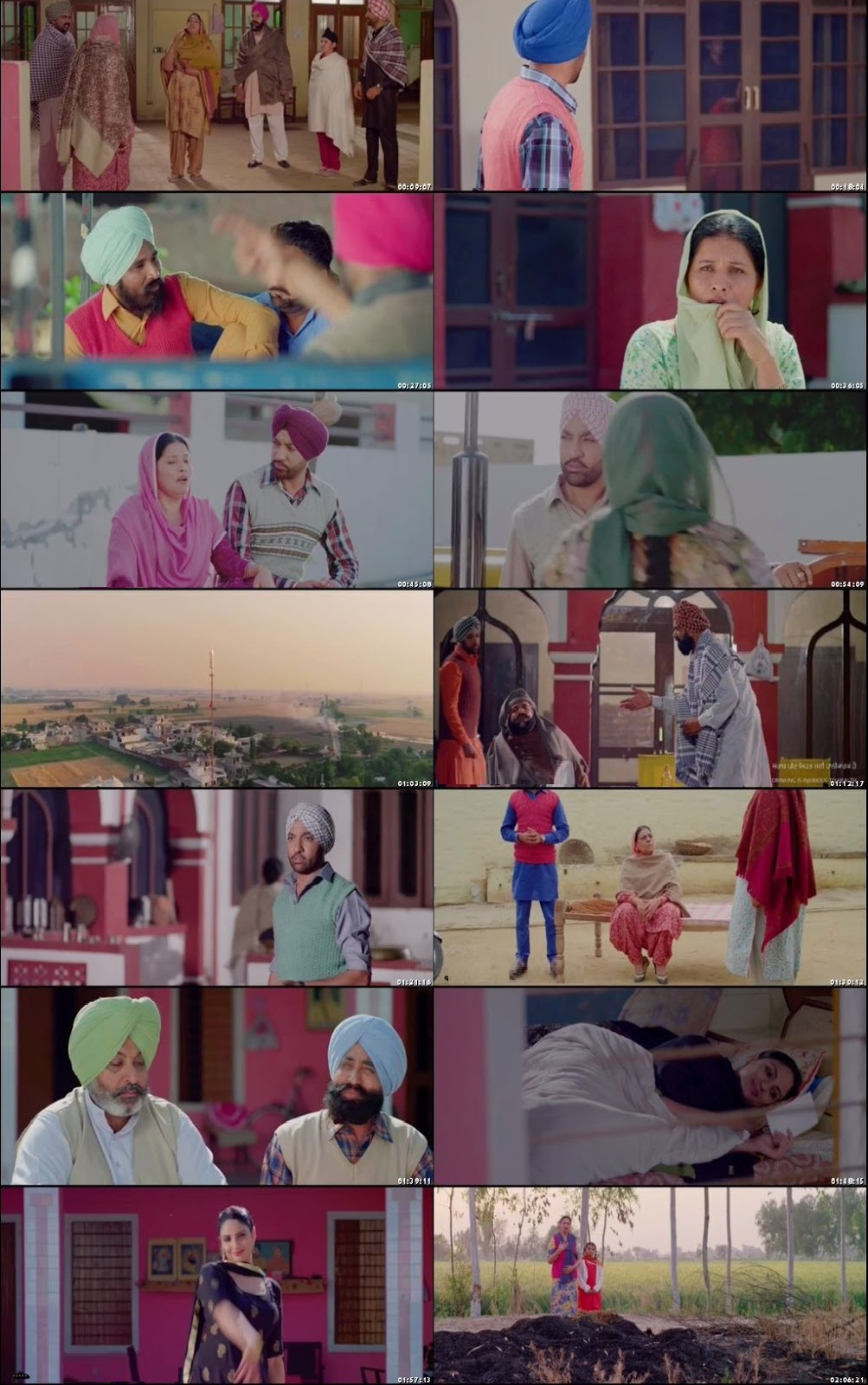 Screen Shot Of Kurmaiyan 2018 300MB DVDRip 480P Full Punjabi Movie Watch Online Free Download