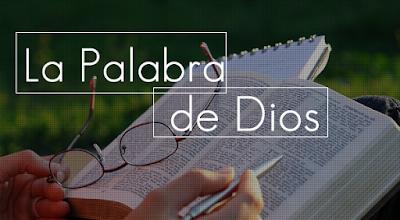 Biblia y la palabra de Dios