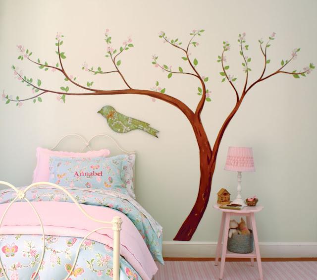 Çocuk Odaları İçin Duvar Dekoru Örnekleri