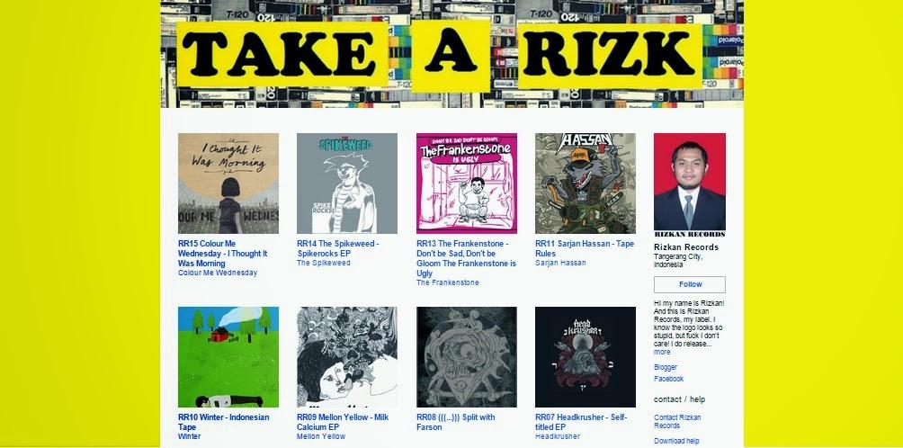 Radio Hey Ho!: Rizkan Records Is Now On Bandcamp!