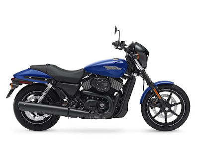 2017 Harley-Davidson Street 750 blue color
