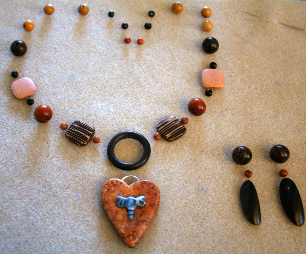 The Creative Continuum of 7 Artists - featuring Monique Urquhart: polymer clay, wood beads :: All Pretty Things