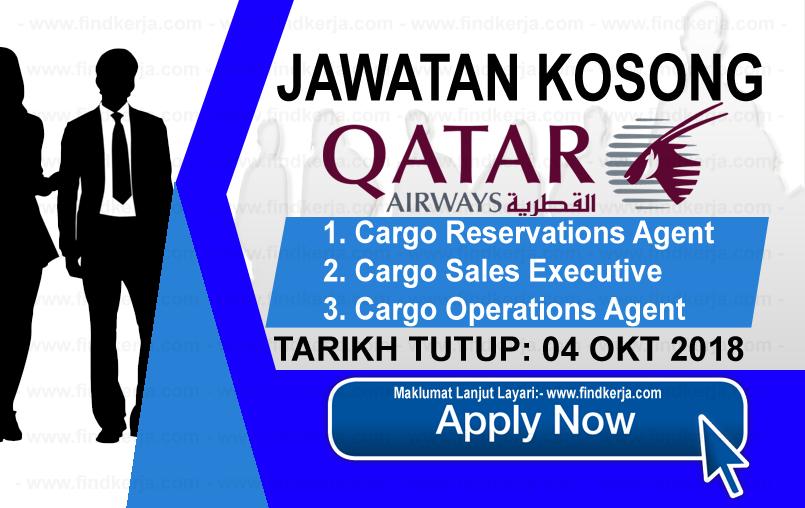 Jawatan Kerja Kosong Qatar Airways logo www.ohjob.info www.findkerja.com oktober 2018
