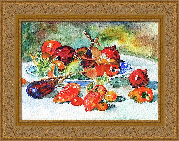 Fruits Of Midi Renoir Still Life Study