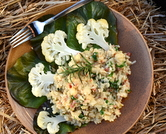 October - Cauliflower Risotto