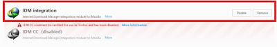 Cara Memasang Add on IDM ke Mozilla Firefox Terbaru 25