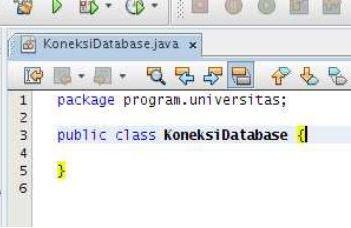 Kelas Informatika - Tampilan Kode Kelas Baru