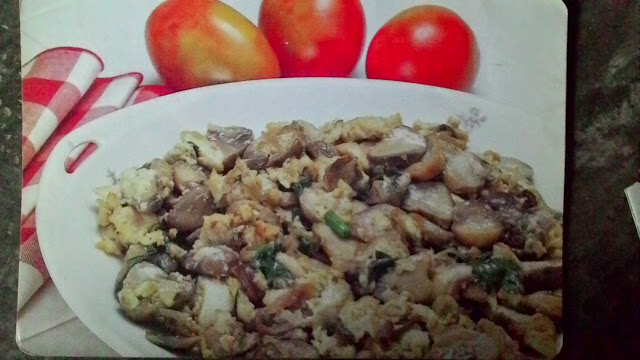Resep Makanan Dadar Jamur Merang Paling Mantap