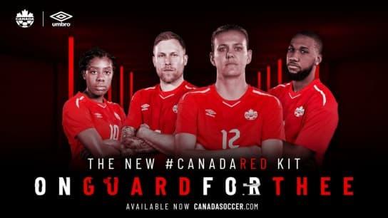 カナダ代表 2018 ユニフォーム-ホーム