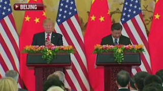 Journalists Freak Out Over Trump Not Taking Questions in China, After Obama Did Same Thing