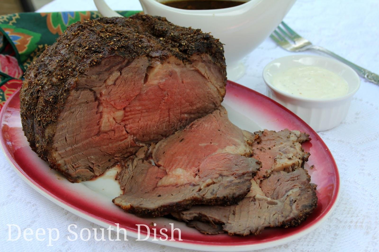 Boneless Prime Rib Beef Roast With Au Jus