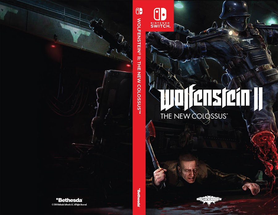 wolfenstein ii the new colossus switch art