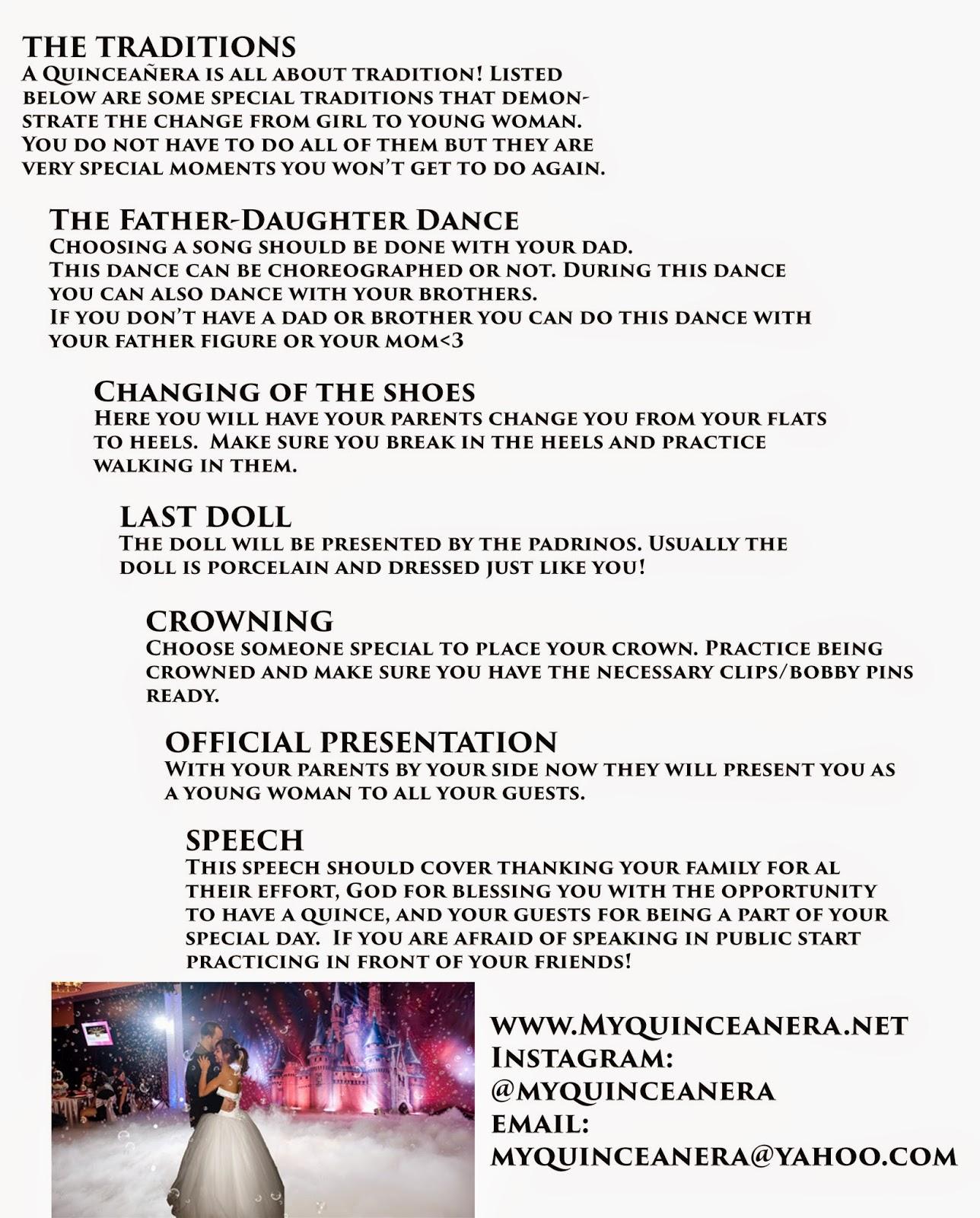 Best Quinceanera Checklist Printable