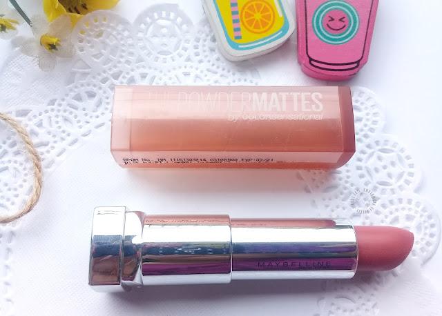 review, maybelline powder mattes, lipstick Matte, pretty-moody.com