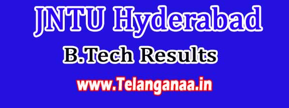 JNTU Hyderabad B.Tech 3rd Year 2nd Sem May-2016 Revaluation Results