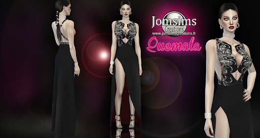 Quemala dress click image to download womens clothing area on. http://www.jomsimscreations.fr WEBSITE