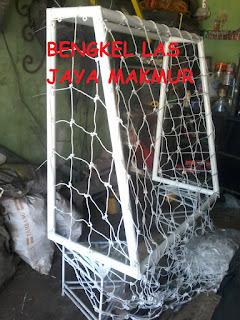 Tiang gawang futsal Bogor