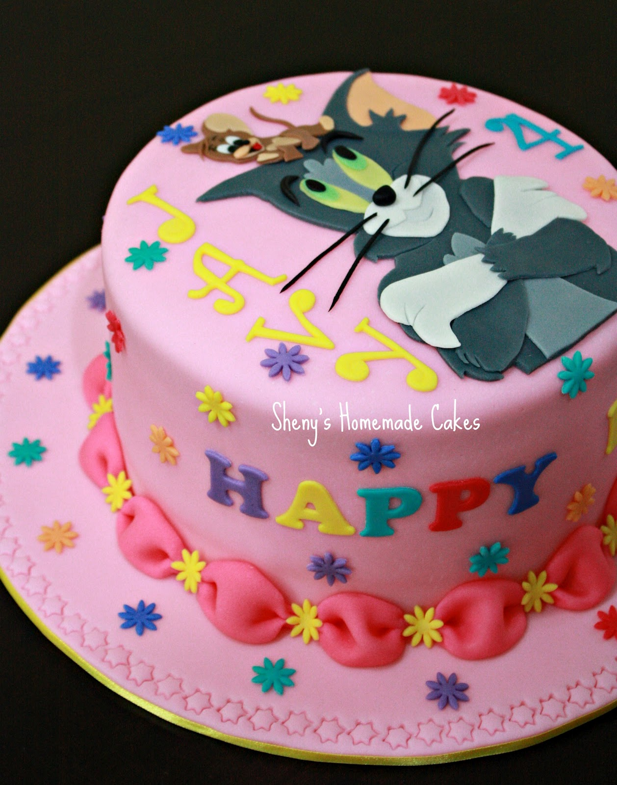 Tom And Jerry Birthday Cake Pictures