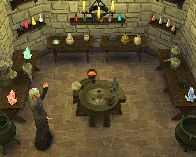 My Sims 4 Blog Skyrim Alchemy Set By Mara45123