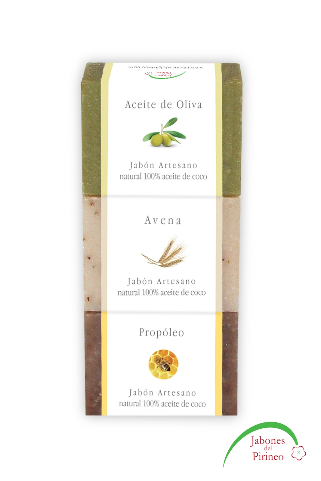 Jabones Naturales Aceite Oliva Avena Propóleo