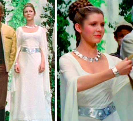 Princesa Leia  vestido de noiva