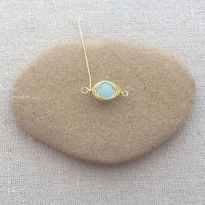 Free herringbone wire wrap tutorial