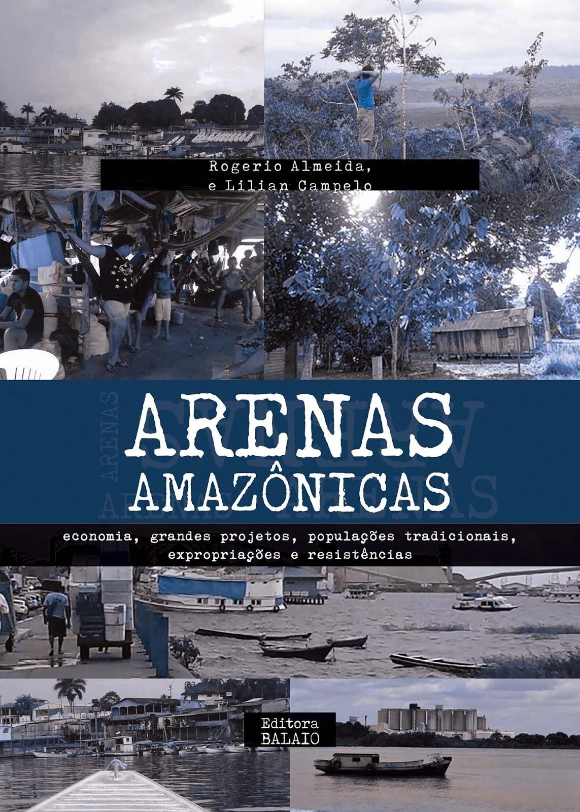 Capa do volume II do Arenas