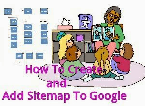 create and submit sitemap