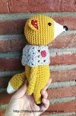 Little Owlet Patterns Fox amigurumi