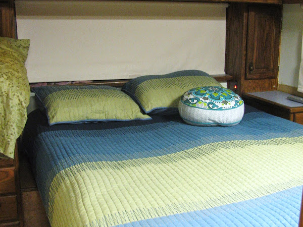 Our Tiny House Motor Home Bedroom: Before & After!