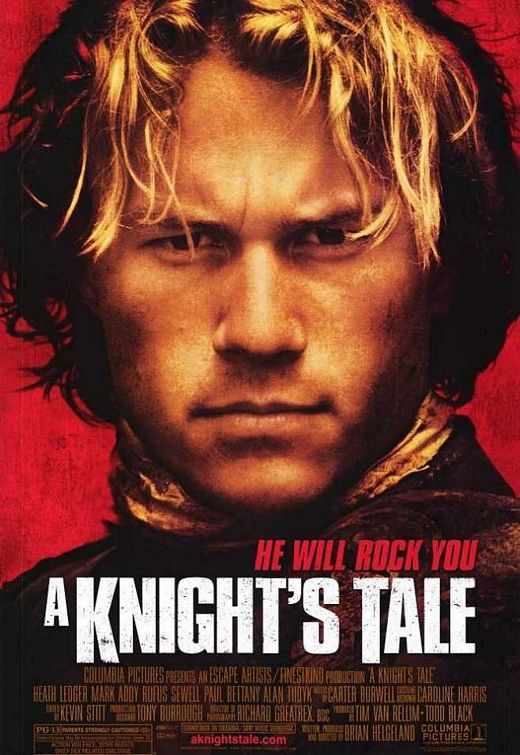 A Knights Tale movie poster