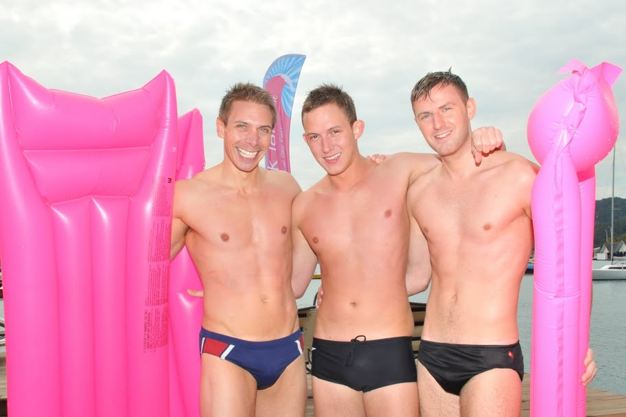 Naked Gay Vacations Nude Swimming Pic
