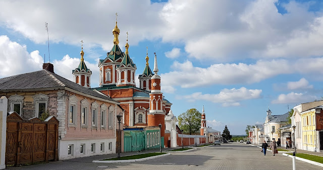 В Коломенском Кремле