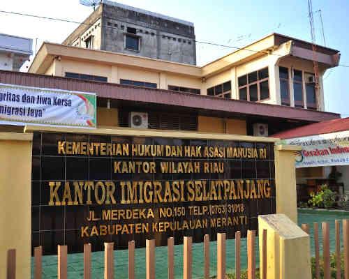 Alamat Telepon Kantor Imigrasi Kelas II TPI Selatpanjang - Riau
