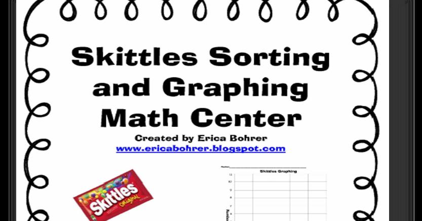 First Grade FUNdamentals!: Skittle Math Fun!