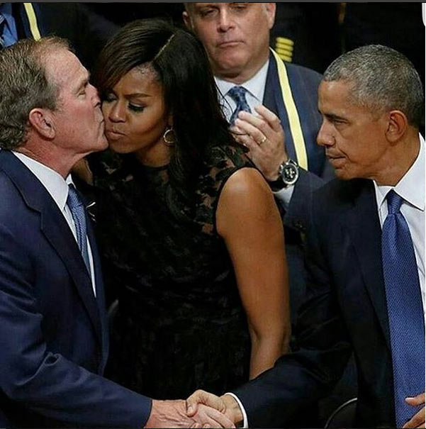 The look on Obama's face in this scene: priceless