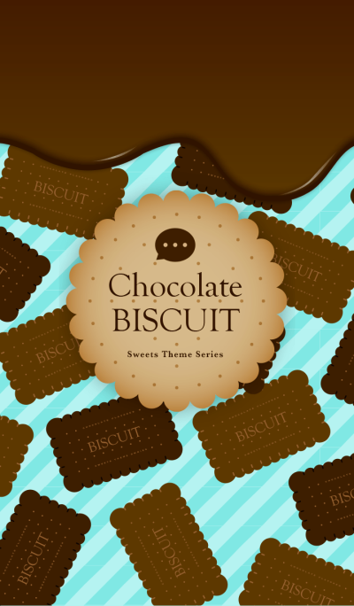Chocolate Biscuit -Mint-
