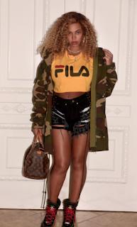 Beyonce Fila