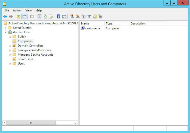 Hướng dẫn join domain server Centos 7 với Active Directory Domain