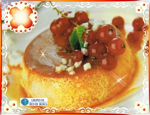 Flan de queso light
