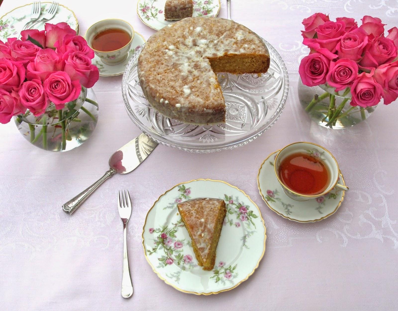 The Alchemist Lemon Cornmeal Cake