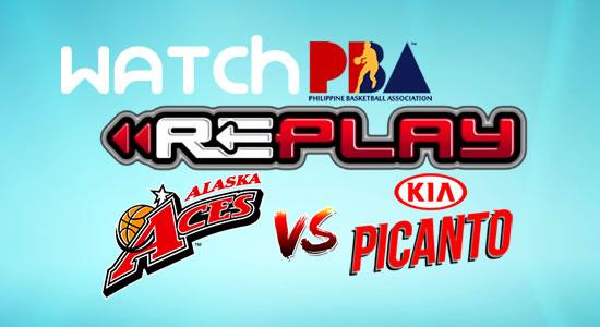 Video List: Alaska vs Kia game replay January 14, 2018 PBA Philippine Cup