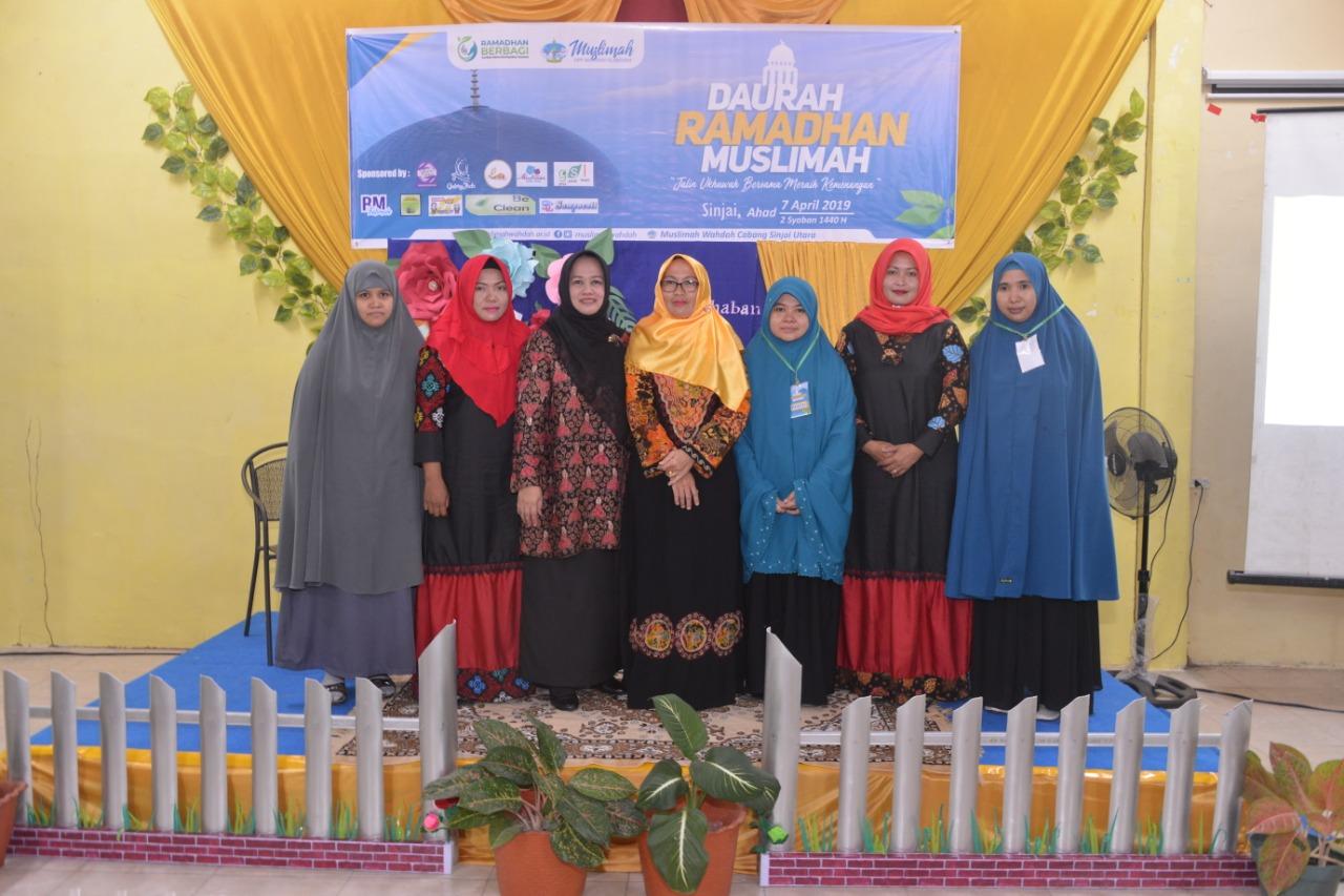 Wabup Sinjai Buka Daurah Ramadhan Muslimah