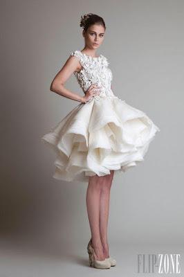 vestidos curtos de noiva