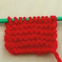 ガーター編み