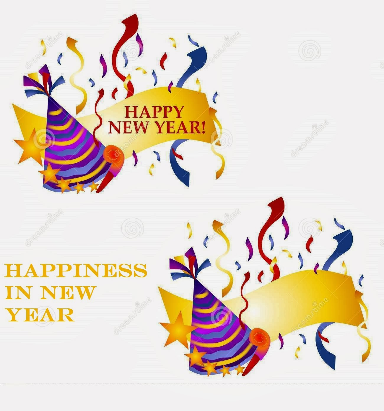 Best Happy New Year Clip Art And Messages 2015 - Free Quotes ...