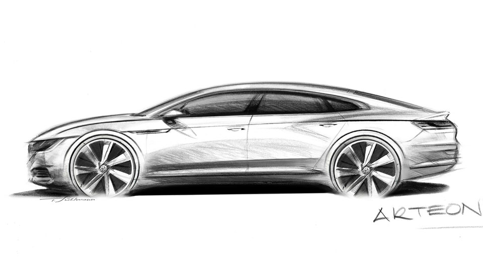 volkswagen arteon may get shooting brake version. Black Bedroom Furniture Sets. Home Design Ideas