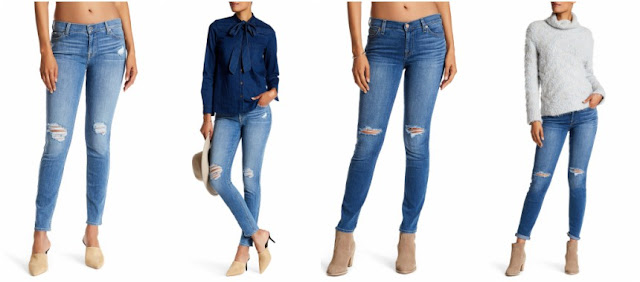 7 For All Mankind Gwenevere Skinny Jeans $63 (reg $215)